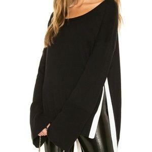 525 America Revolve Cotton Cashmere Side Slit